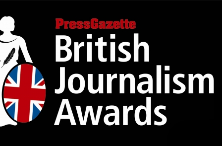Press Gazette Awards 2013 logo